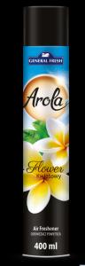 Odświeżacz powietrza AROLA Spray 400ml kwiat GENERAL FRESH