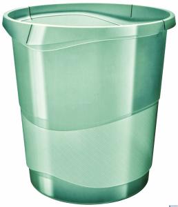 Kosz na śmieci ESSELTE COLOURICE zielony 626290