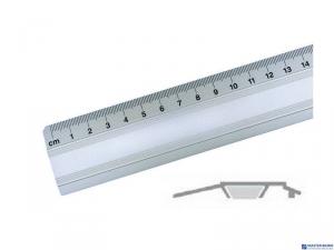 Linijka biurowa 50cm 30072 LENIAR