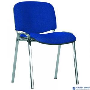 Krzesło konferencyjne ISO chrome CU-14 nie/cz niebiesko-czarne