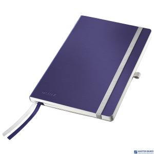 Notatnik miękki LEITZ STYLE A5 kratka Tytanowy błękit 44880069