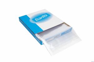 Koszulki krystaliczna BANTEX A4 100mic PP (100szt) w kartonie