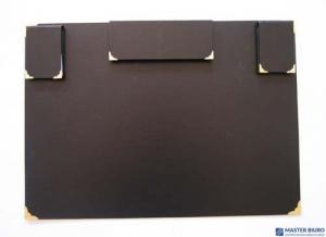 Podkład na biurko z wypos. czarny 910-012 WARTA