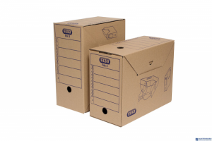 Karton archiwizacyjny TRIC 3 szerokość 15,5cm brązowy ELBA 100552624
