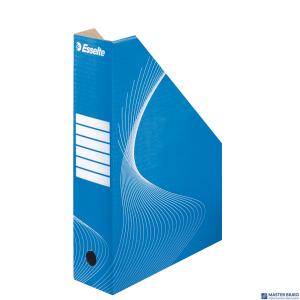 Pojemnik kartonowy na czasopisma 80mm niebieski ESSELTE 10025