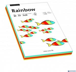 Papier ksero kolorowy RAINBOW mix Intensywny odcień 88043188
