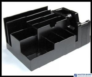 Przybornik biur.330 B bez wyp. czarny EAGLE 120-1065