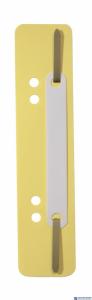 Wąsy do skoroszytu DURABLE Flexi żółte (250szt) 6901-04