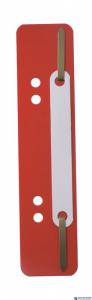 Wąsy do skoroszytu DURABLE Flexi czerwone (250szt) 6901-03