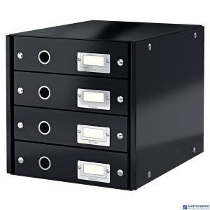 Pojemnik z 4 szufladami LEITZ C&S czarny 60490095