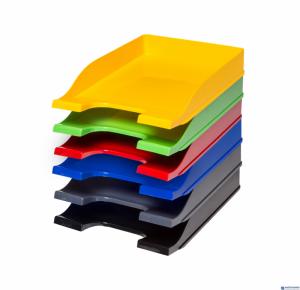 Półka na dokumenty BANTEX COLORS czerwona 400050169