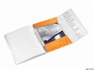 Teczka 12 przeródek A4 200k pomarańczowa LEITZ WOW 46340044