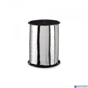 Wstążka błyszcząca srebrna 10mm x 225m (2)