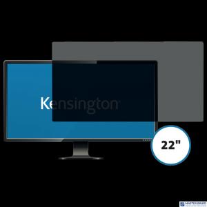 Kensington privacy filter 2 way removable 55.8cm 22 Wide 16:10 626483