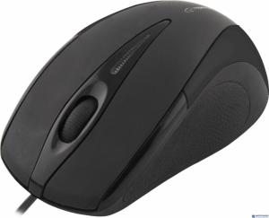 Mysz optyczna SIRIUS 3D USB czarna EM102K ESPERANZA