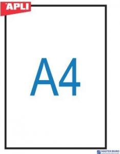 Folia do ksero  0859 APLI(100) do podaw.ręcznego-pojedyńczo