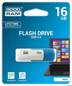 Pamięć USB GOODRAM 16GB USB 2.0 UCO2 UCO2-0160MXR11 miks kolorów