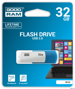 Pamięć USB GOODRAM 32GB UCO2 USB 2.0 miks kolorów UCO2-0320MXR11