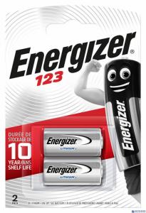 Bateria ENERGIZER 123 fotograficzna (2 szt.) blister