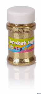 Brokat 43g - złoty, srebrny - display 12 sztuk ASTRA, 335117008