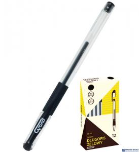 Pióro żelowe czarne GR-101 (2 sztuki) 160-1703 GRAND