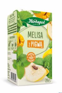 Herbata HERBAPOL Zielnik Polski Melisa z pigwą 20tb/35g