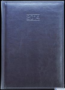 Kalendarz A5 tydzień na 2 stronach C3-17 szary tex BEST CLASSIC 2022 TELE