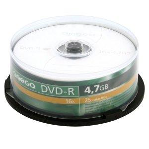 Płyta DVD-R 4,7GB 16X CAKE*2 OMEGA OMD1625+