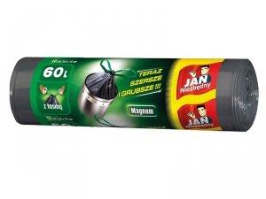 JAN NIEZBĘDNY Worki LD Magnum Flex&St taśma 60l 10 szt. 04331