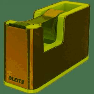 Podajnik taśmy klejącej Leitz WOW, zielony 53641054