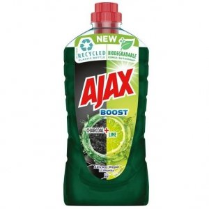 AJAX płyn do mycia Boost Charcoal+Lime_1 L  332225