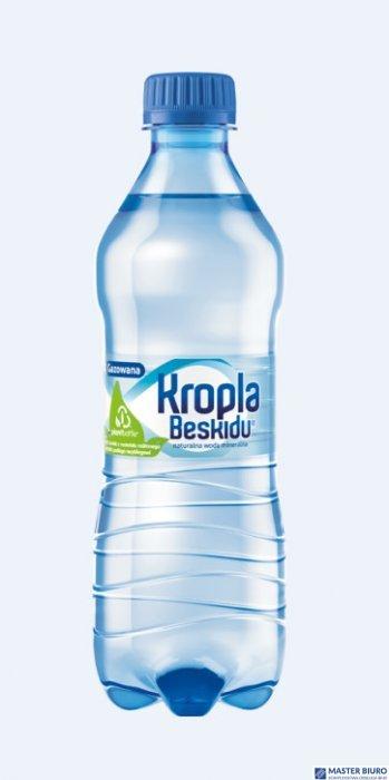 Woda KROPLA BESKIDU gazowana 0.5L butelka PET