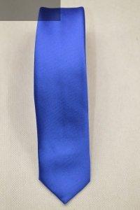 Krawat chabrowy gładki
