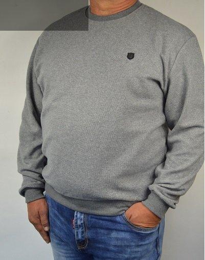 Bluza sportowa nadwymiar szara