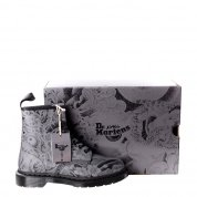 Buty Dr. Martens 1460 OT Tattoo Black+Gunmetal Backhand 24239001