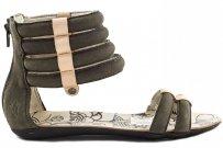 Sandały Fly London MOLLY Khaki-Bone