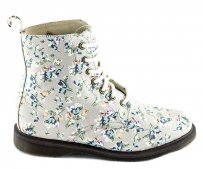 Buty Dr. Martens EVAN OFF WHITE Tulip Fine Canvas