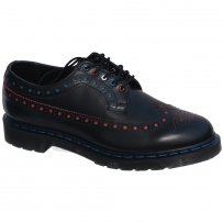 Półbuty Dr. Martens 3990 Black Red Blue
