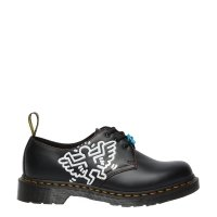 Półbuty Dr. Martens 1461 KEITH HARING Black Smooth 26834001