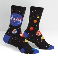 Skarpety damskie SOCK IT TO ME NASA Solar System W0269