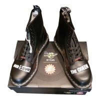 Buty Dr. Martens 1460 SEX PISTOLS Black Rolled Smooth 25927001