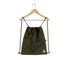 Worek The Pack Society GYMSACK SOLID FOREST GREEN 999CLA799.20