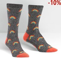 Skarpety damskie SOCK IT TO ME Glitter Over The Rainbow W0232