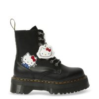 Buty Dr. Martens Jadon II Hello Kitty Black Polished Smooth 25913001