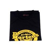 T-Shirt Dr. Martens LOGO  Black Yellow AC723001