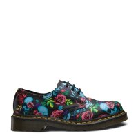 Półbuty Dr. Martens 1461 Rose Multi Rose Fantasy Backhand Straw Grain 24428102