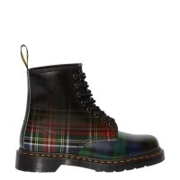 Buty Dr. Martens 1460 TARTAN Red Stewart +Black Watch Tartan Backhand Straw Grain 25244602
