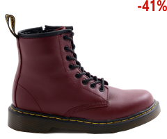 Buty Dr. Martens DELANEY Cherry Red 15382601