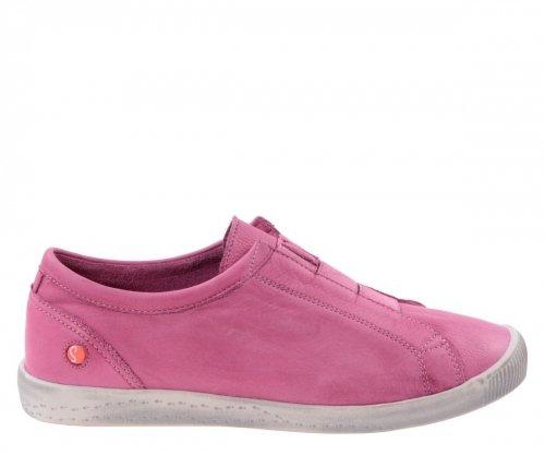 Półbuty Softinos INI 453 Pink Washed P900453008