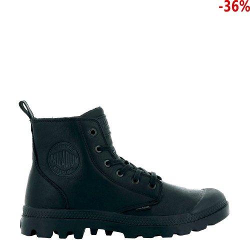 Buty Palladium  PAMPA ZIP LEATHER ESS Black 76888008